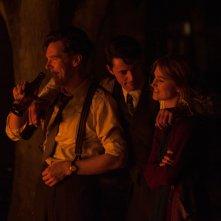 The Imitation Game: Benedict Cumberbatch insieme a Keira Knightley e Matthew Goode in un'immagine del film