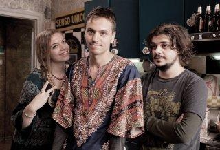 Zio Gianni: Rancesco Russo, Cristel Checca e Luca Di Capua in una foto sul set