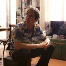 Zio Gianni: Paolo Calabresi in una foto sul set