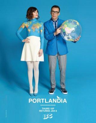 Una locandina per Portlandia