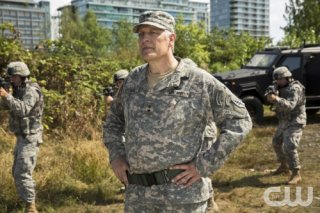 The Flash: Clancy Brown in Plastique