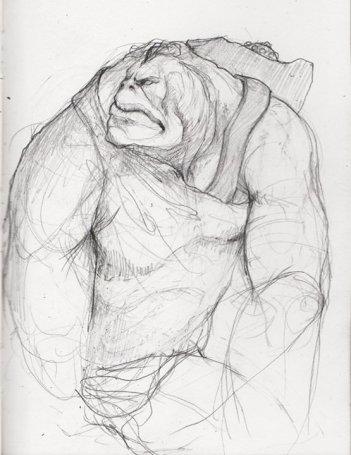 Un disegno di Stefano Dubay