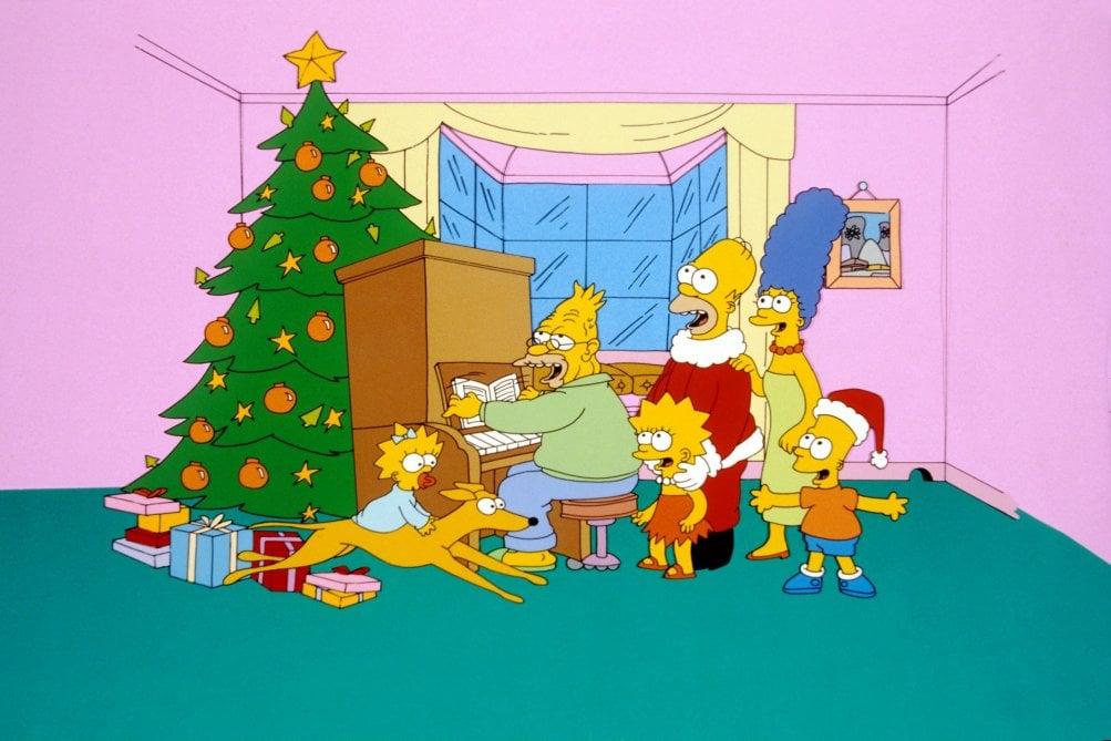 I Simpson: una scena dell'episodio Un Natale da cani