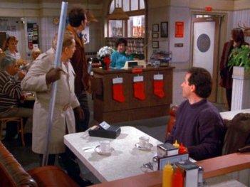Seinfeld: i protagonisti della serie nell'episodio intitolato Lo sciopero