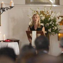 Homeland: l'attrice Claire Danes in una scena dell'episodio intitolato Long Time Coming