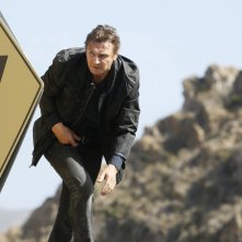 Taken 3 - L'ora della verità: Liam Neeson in una scena dell'action movie di Olivier Megaton