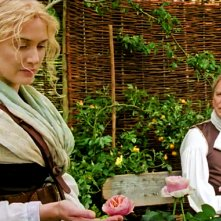 A Little Chaos: Kate Winslet e Alan Rickman in una scena del film