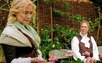 A Little Chaos: Kate Winslet e Alan Rickman in una scena del film