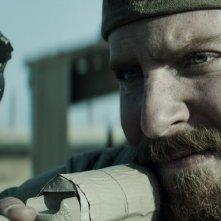 American Sniper: Bradley Cooper in un primo piano tratto dal film