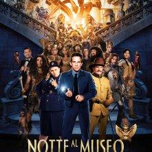 Locandina di Notte al museo - Il segreto del faraone