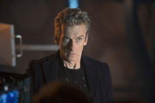 Doctor Who: l'attore Peter Capaldi nella puntata Last Christmas