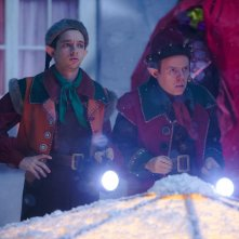 Doctor Who: Dan Starkey e Nathan McMullen in una scena di Last Christmas