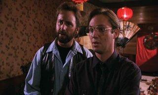 It: John Ritter e Richard Thomas in una scena della miniserie del 1990