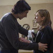 Hungry Hearts: Adam Driver e Alba Rohrwacher in una drammatica scena del film