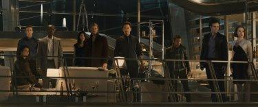 Avengers: Age of Ultron - Foto di gruppo in abiti civili per gli Avengers