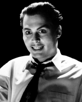 Ed Wood: un primo piano del protagonista Johnny Depp