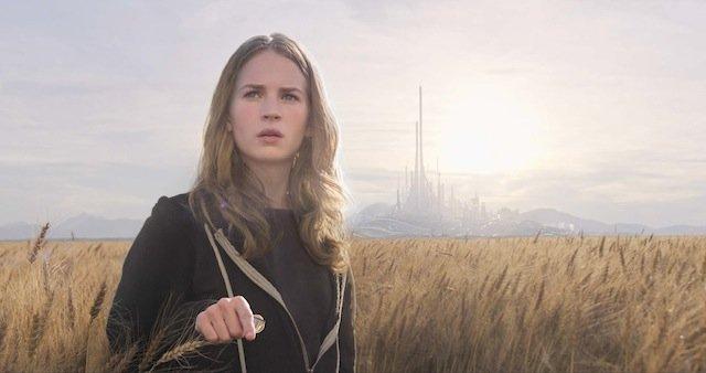 Tomorrowland . Il mondo di domani: un primo piano di Britt Robertson