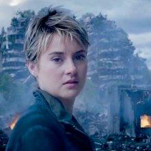 The Divergent Series: Insurgent - un'immagine di Shailene Woodley tratta dal teaser