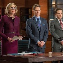 The Good Wife: Christine Baranski, Matt Czuchry e Ben Rappaport in Hail Mary