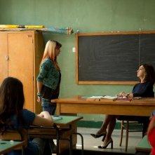 Banana: Beatrice Modica 'interrogata' da Anna Bonaiuto in una scena del film