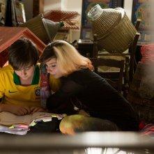 Banana: Marco Todisco con Beatrice Modica in una scena del film