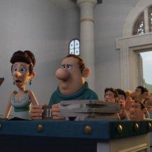 Asterix e il Regno degli Dei: una scena di gruppo tratta dal film