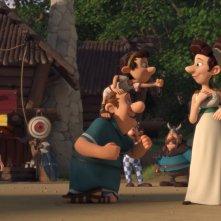 Asterix e il Regno degli Dei: una scena tratta dal film d'animazione