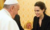 Angelina Jolie in Vaticano con Unbroken