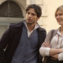 Italo: Marco Bocci  insieme a Elena Radonicich in una scena del film