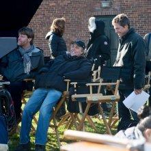 Professore per amore: Hugh Grant sul set col regista Marc Lawrence