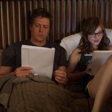 Professore per amore: Hugh Grant con Bella Heathcote in una scena del film