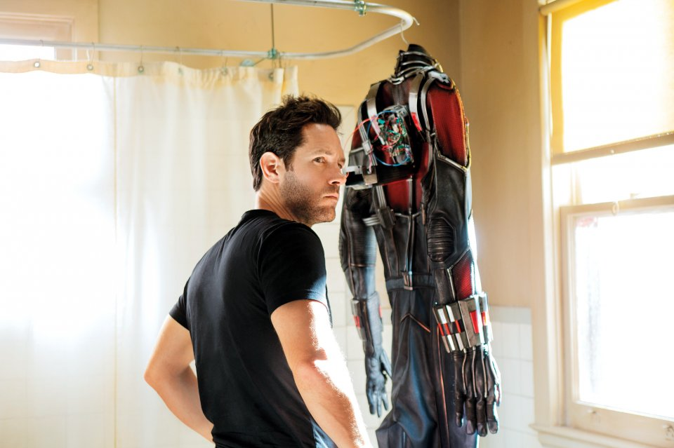 Ant-Man: Paul Rudd vicino alla sua tuta