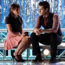 Glee: Lea Michele e Matthew Morrison in una scena dell'episodio intitolato Loser Like Me
