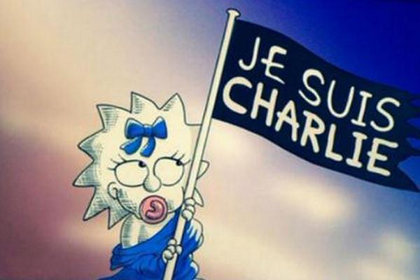 I Simpson ricordano le vittime di Charlie Hebdo