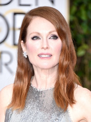 Julianne Moore sul red carpet dei Golden Globes 2015