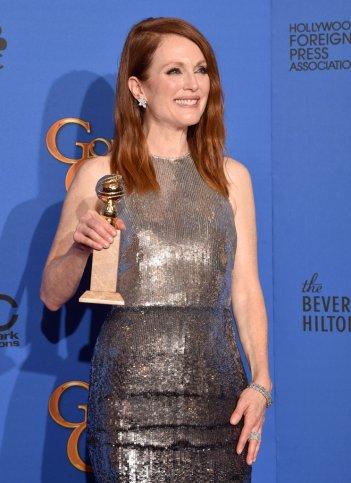 Golden Globes 2015 - Julianne Moore vince per Still Alice
