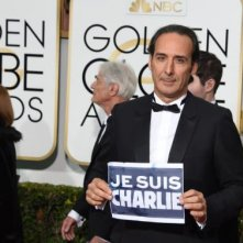 Golden Globes 2015: Alexandre Desplat ricorda le vittime dell'attentato di Parigi