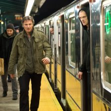 Liam Neeson e Joel Kinnaman in Run All Night