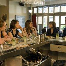 Girls: Jemima Kirke, Zosia Mamet, Allison Williams, Lena Dunham, e Andrew Rannells in Iowa
