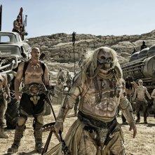 Mad Max: Fury Road, una scena del film d'azione diretto da George Miller