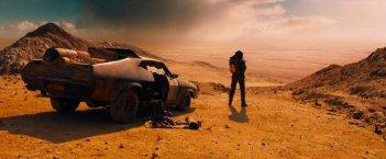 Mad Max: Fury Road,  una scena del film