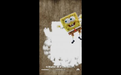 Motion Poster 'Wipe' - SpongeBob - Fuori dall'acqua