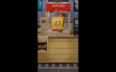 Motion Poster 'Pop It' - SpongeBob - Fuori dall'acqua