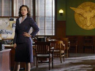 Agent Carter: Hayley Atwell in una foto promozionale della serie ABC