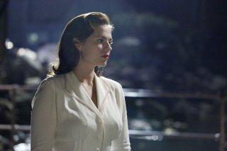 Agent Carter: l'attrice Hayley Atwell nella première