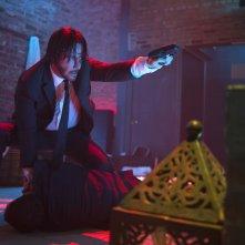 John Wick: Keanu Reeves in una scena del film action