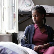 Difret - Il coraggio per cambiare: la giovane Tizita Hagere nei panni di Hirut in una scena del film