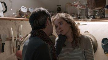Il nome del figlio: Valeria Golino parla con Rocco Papaleo in una scena