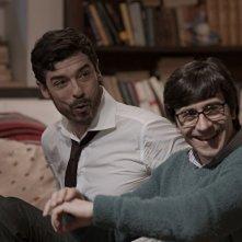 Il nome del figlio: Luigi Lo Cascio con Alessandro Gassman in un momento del film