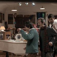 Il nome del figlio: Luigi Lo Cascio si diverte con Rocco Papaleo e Alessandro Gassman in una scena